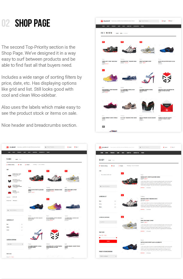 jOLiSHOP - Shop Page