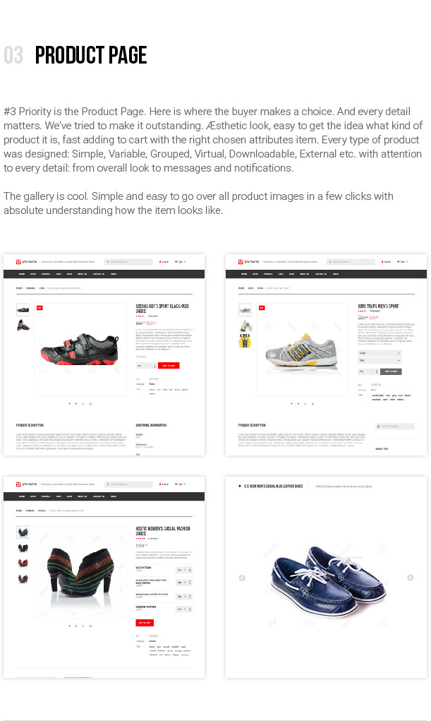 jOLiSHOP - Product Page